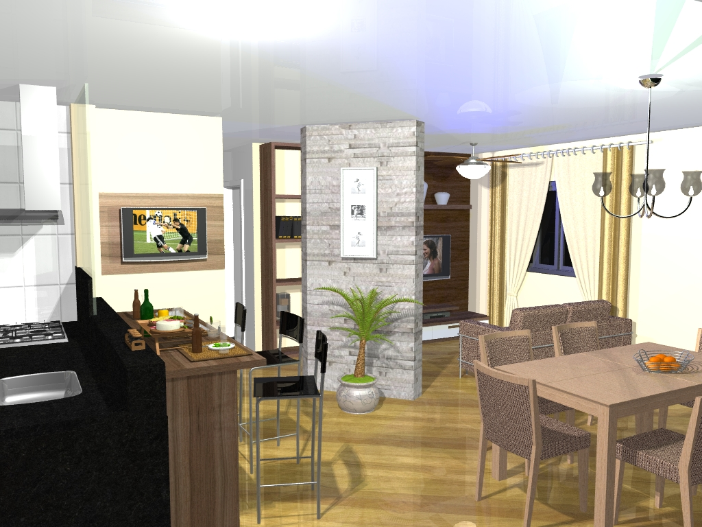 vantagens das salas conjugadas as salas conjugadas trazem diversos #90733B 1024 768
